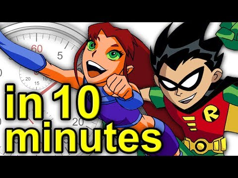 The History Of Teen Titans | A Brief History