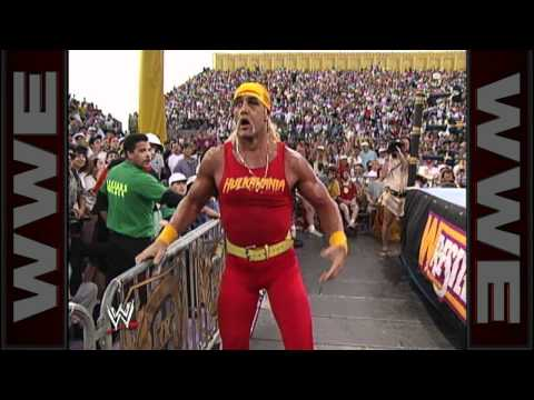 A salty misfire by Mr. Fuji at WrestleMania IX