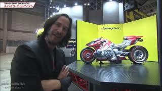 2019 Keanu Reeves in Japan /Tokyo Game Show / Cyberpunk 2077