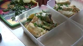 Готовлю завтрак, обед//что в холодильнике после праздников.  влог. №219
