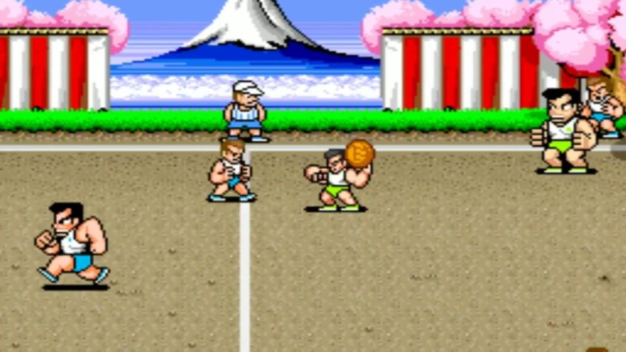 Classic arcade game - super dodge ball (1987) - 2nd play ...