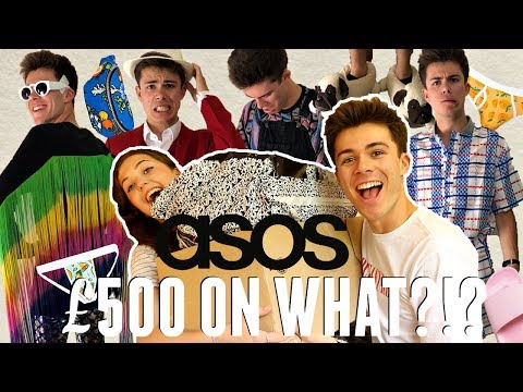 MY SUBSCRIBERS DO MY ASOS SHOP! (£500 on WHAT!?!?) - Mens Try On Haul | Jack Edwards