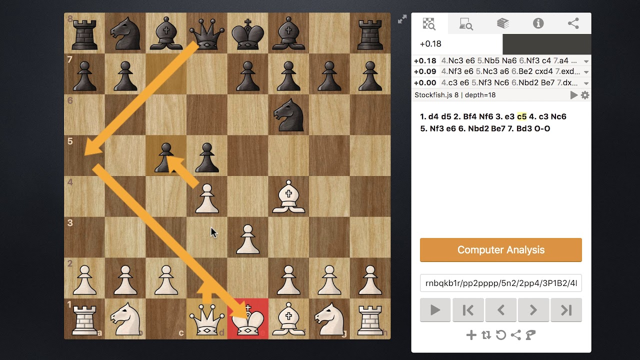 London System Opening - Chess Lesson 1 - General Theory and Basic Concepts Explained - YouTube