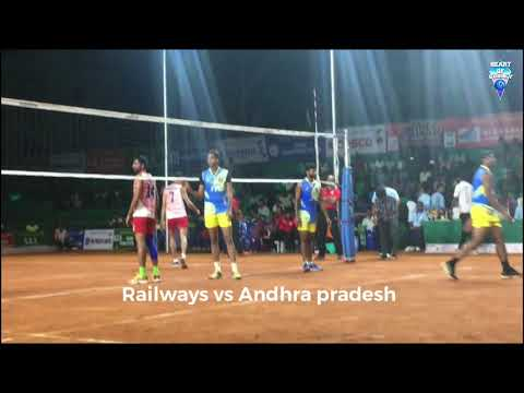 Indian Railway vs Andhra Pradesh | Federation cup Warming Shots 2018 | Watch HD