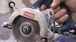 Portable Wet Saw For Tile