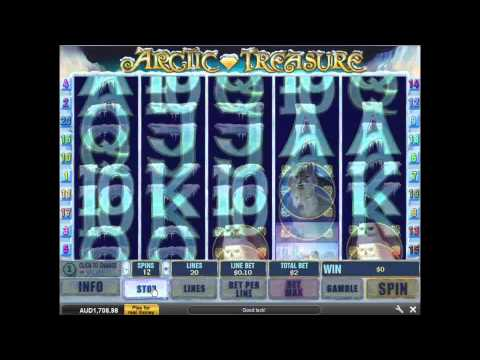 Arctic Treasure Slot Machine at Grand Reef Casino