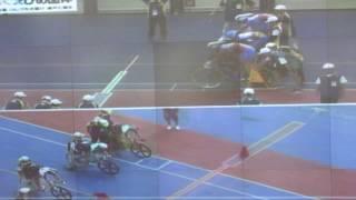 第72回国民体育大会・自転車競技会/男子チーム・スプリント予選15組目、H:北海道 B:広島県