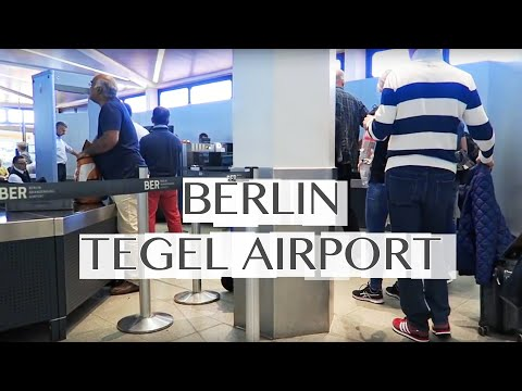 Boarding at Berlin's Tegel Airport