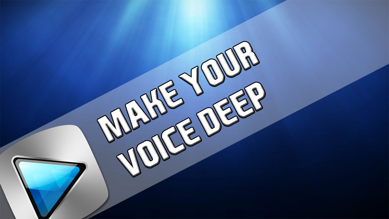 How to make the voice coarser