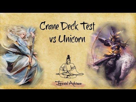 Imperial Advisor - Episode 19 Part 3: Testing our Crane Deck vs Unicorn