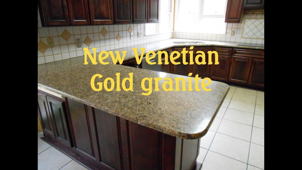 Beau Granite Countertops Charlotte NEW VENETIAN GOLD 4 8 13   YouTube