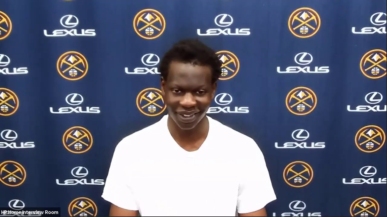 Bol Bol Talks About His First NBA Game, Postgame Interview | July 22, 2020