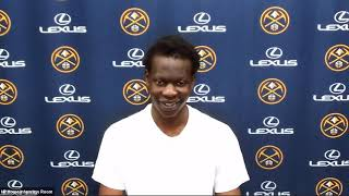 Bol Bol Talks About His First NBA Game, Postgame Interview