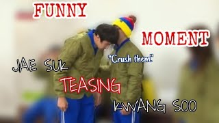 [RUNNING MAN] Jae Suk Teasing Kwang Soo
