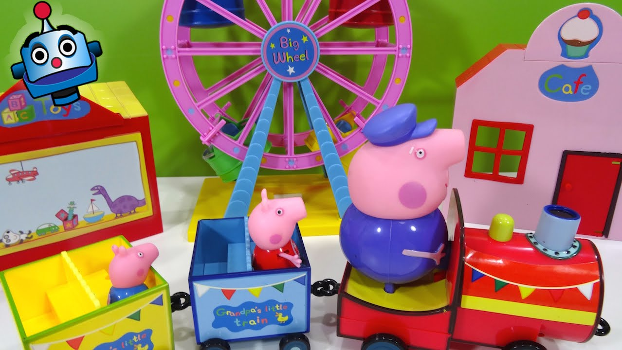 Peppa Pig Theme Park Ride Set  YouTube