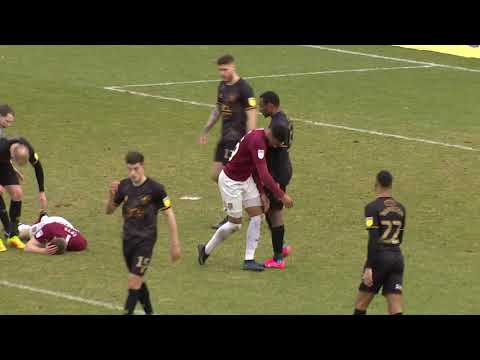 Highlights: Northampton Town v Mansfield Town