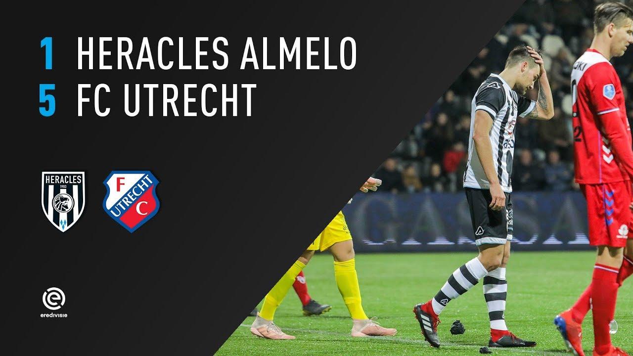 Heracles Almelo Fc Utrecht 02 03 2019 Samenvatting