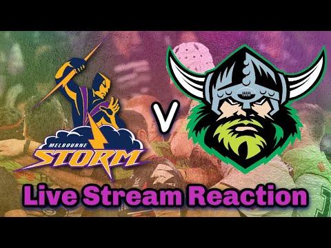 Melbourne Storm V Canberra Raiders | NRL Round 3 - Live Stream | Reaction