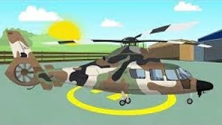 Military Helicopter | Animation For Children | Military Helicopter | Fairy Tales Constructions