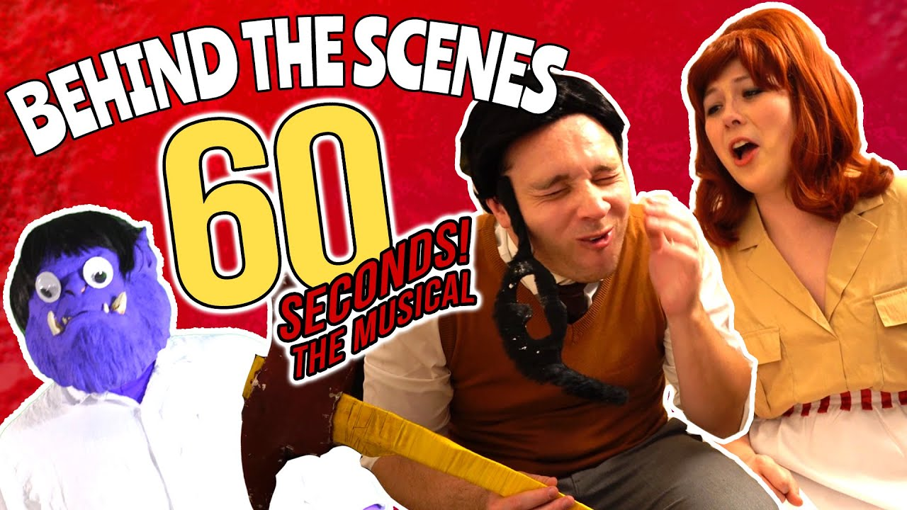 WE BUILT A BUNKER for 60 Seconds! The Musical
