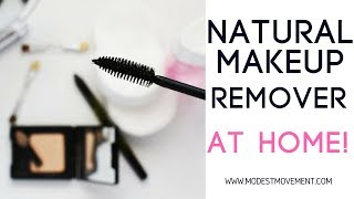 Natural Makeup Remover At Home!