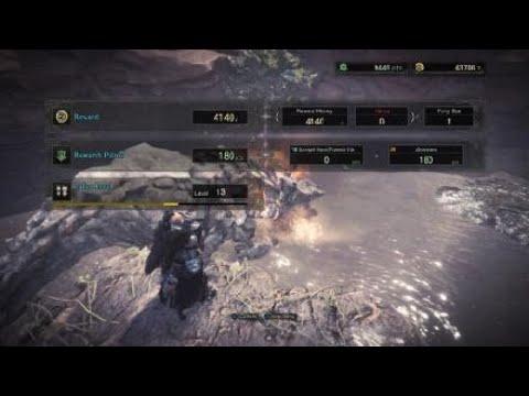 Cómo ganar monedas rápido en Monster Hunter: World si eres nivel bajo.