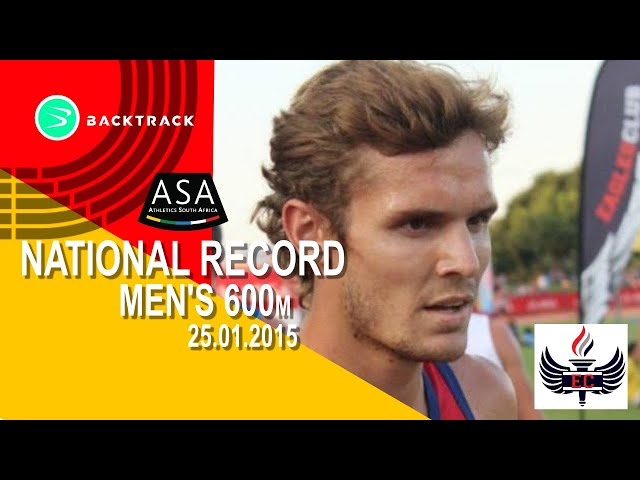 Rynardt van Rensburg  - EC Classic Shoot-Out & SA 600m Record!!!