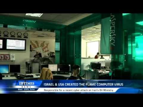 Israel & USA created the Flame computer virus
