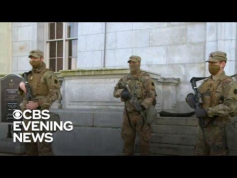 National Guard sending 20,000 troops to D.C. over violent threats