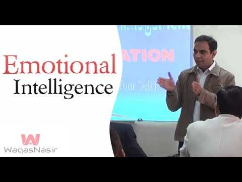 Emotional Intelligence | Qasim Ali Shah | Urdu/Hindi | WaqasNasir