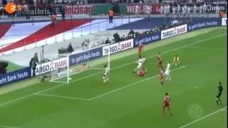 DFB Pokal 2013 - FC Bayern Munich holt das Tripple - Bayern Munich - VFB Stuttgart 3 : 2