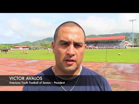 American Youth Football of Samoa – President, Victor Avalos (1)