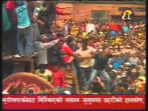 Bisket Festival Bhaktapur