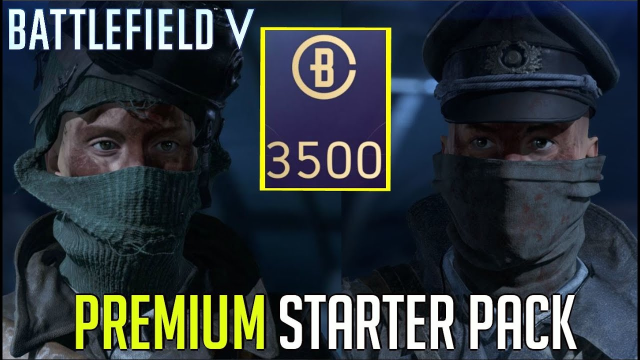 BFV - Premium Starter Pack Items! (What's inside?)