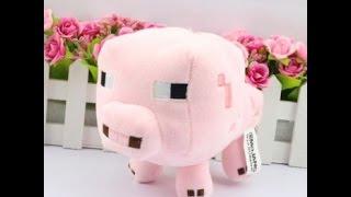 Обзор -  Мягкая игрушка Свинка из Майнкрафта