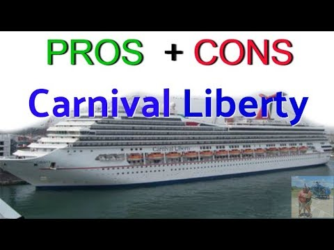 Carnival Liberty Pro's & Con's Review