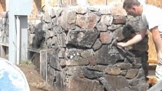 Slipform Stone Masonry (sample clips from the DVD)