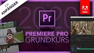 Adobe Premiere Pro 2020 (Grundkurs für Anfänger) Deuтsch (Tutorial)