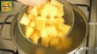 Кулинарные рецепты! Очень вкусный сырный супчик!   YouTube 360p
