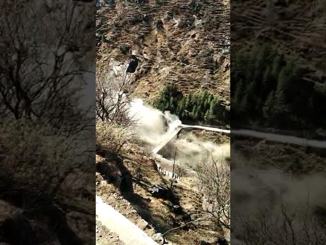 जोशीमठ के पास ग्लेशियर टूटने से भारी तबाही