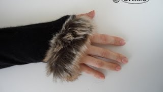 How to make fur gloves - OWIMO Design Upcycling Thumbnail