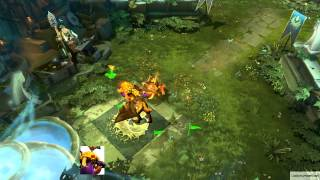 Dota 2 Courier Preview: Unusual Golden Baby Roshan (HD)