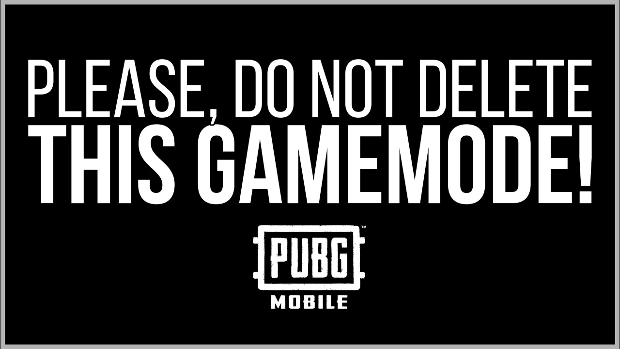 THIS GAMEMODE MUST BE FOREVER! [PUBG MOBILE]