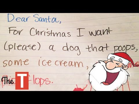20 Most Hilarious Kids Christmas Wishes That Made Even SANTA Laugh