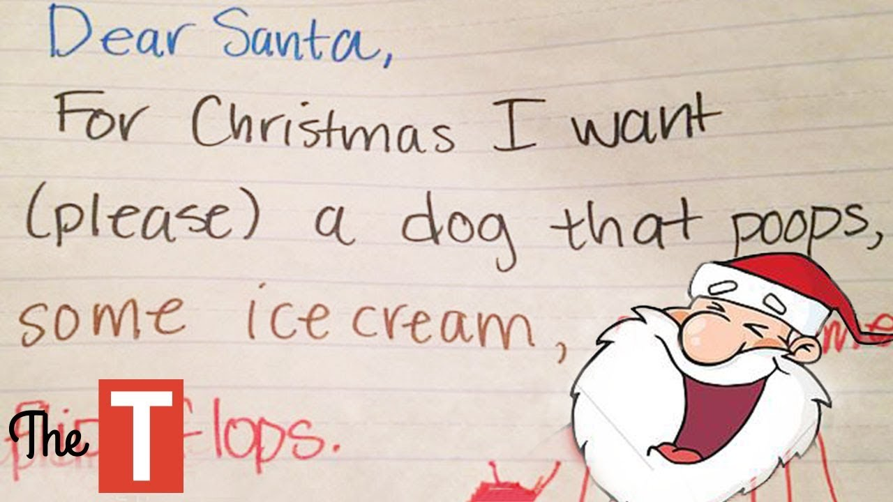 20 Most Hilarious Kids Christmas Wishes That Made Even SANTA Laugh ...