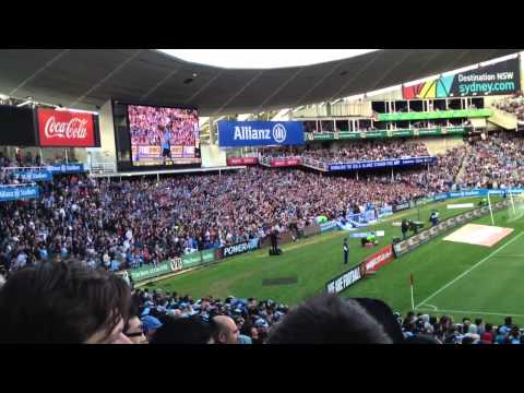 Alessandro Del Piero First Sydney FC Goal (Cove Re-Action)