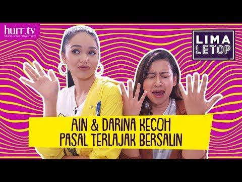 LimaLeTop! | Ain Edruce & Darina Zarin Kecoh Pasal Terlajak Bersalin thumbnail