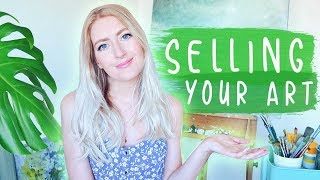 SELLING YOUR ART | When Should You Start? & How?