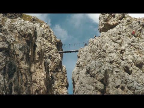 Klettersteig Dolomiten : Pisciadu klettersteig ferrata dolomiten full hd youtube