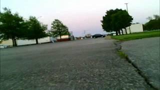 Traxxas Parking lot bashing On board 808 Camera
